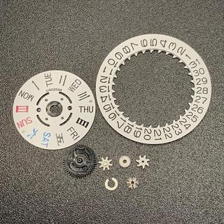 セイコー(SEIKO)の[新品]セイコー SEIKO NH36 ムーブメント デイデイト 部品 セット(腕時計(アナログ))