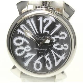 ガガミラノ(GaGa MILANO)の☆良品 ガガミラノ マヌアーレ 40  5020.9 レディース 【中古】(腕時計)