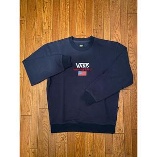 ヴァンズ(VANS)の【古着】VANS スウェット Mサイズ(スウェット)
