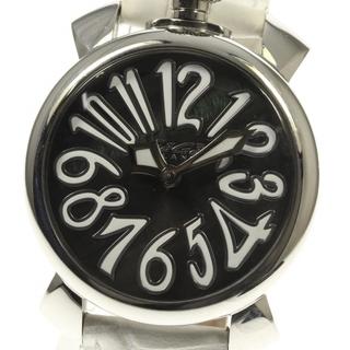 ガガミラノ(GaGa MILANO)のガガミラノ マヌアーレ40  5020.4 クォーツ レディース 【中古】(腕時計)