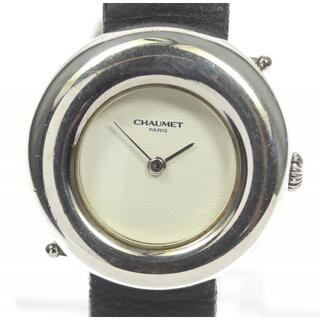 ショーメ(CHAUMET)のショーメ アノー SV925   クォーツ レディース 【中古】(腕時計)