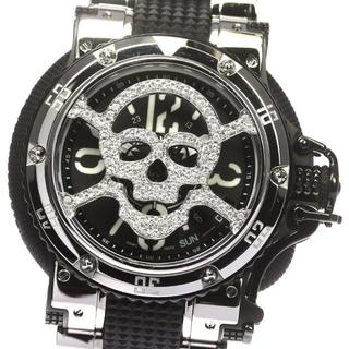 アクアノウティック(AQUANAUTIC)の☆良品 アクアノウティック サブコマンダー スカル   メンズ 【中古】(腕時計(アナログ))