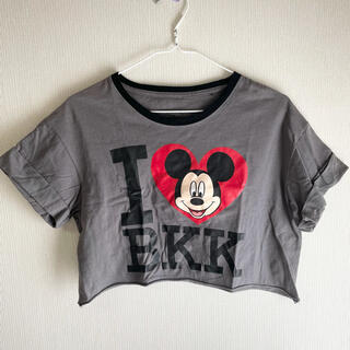 ディズニー(Disney)のミッキーマウス Tシャツ 古着(Tシャツ/カットソー(半袖/袖なし))