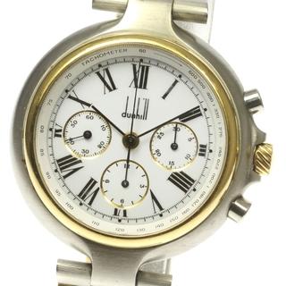 ダンヒル(Dunhill)のダンヒル ミレニアム  クロノグラフ  手巻き メンズ 【中古】(腕時計(アナログ))