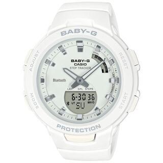 CASIO - カシオ BABY-G アスレジャー モバイルリンク 腕時計 ホワイト