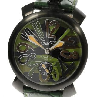 ガガミラノ(GaGa MILANO)のガガミラノ マヌアーレ48MM 5012.5 メンズ 【中古】(腕時計(アナログ))