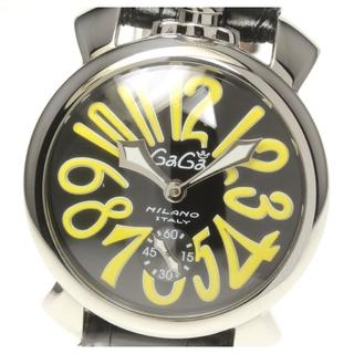 ガガミラノ(GaGa MILANO)の☆良品 ガガミラノ マヌアーレ48 5010.12S メンズ 【中古】(腕時計(アナログ))