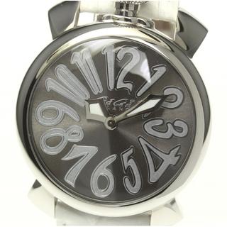 ガガミラノ(GaGa MILANO)の☆良品 ガガミラノ マヌアーレ40  5020.9 レディース 【中古】(腕時計)