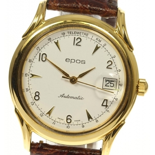 エポス(EPOS)のエポス  デイト  自動巻き メンズ 【中古】(腕時計(アナログ))
