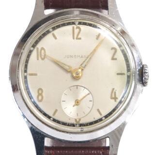 ユンハンス(JUNGHANS)のビンテージ JUNGHANS ユンハンス 手巻き腕時計(腕時計(アナログ))