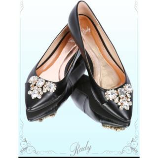 レディー(Rady)のRady♡美品 ローヒールパンプス L(ローファー/革靴)