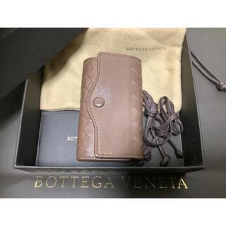 ボッテガヴェネタ(Bottega Veneta)の🔸ボッテガヴェネタ  イントレチャート  キーケース ブラウン系 【送料込み】(キーケース)