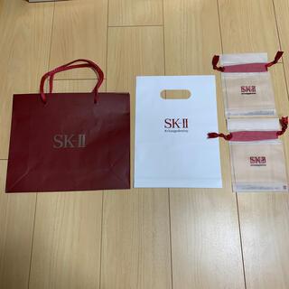 エスケーツー(SK-II)のSK-II ショップ紙袋+ビニール袋+ポリ巾着袋2つ(ショップ袋)