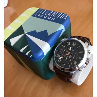 FOSSIL - 【値下げ】フォッシル腕時計 Fossil グラント FS4813 GRANT