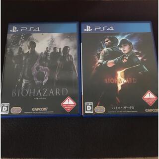 プレイステーション4(PlayStation4)のバイオハザード5.6セット PS4(家庭用ゲームソフト)