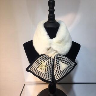 Christian Dior - ★美品(Diorデイオール) マフラー/未使用品 箱付き/白」
