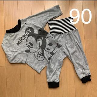ディズニー(Disney)のDisney ミッキー 寝巻き 腹巻 パジャマ(パジャマ)