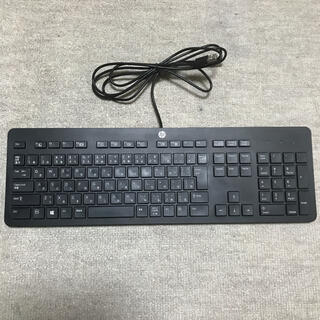 ヒューレットパッカード(HP)の【美品】HP USBキーボード 型番:KU-1469(PC周辺機器)