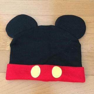 ディズニー(Disney)のニット帽 ミッキー(ニット帽/ビーニー)