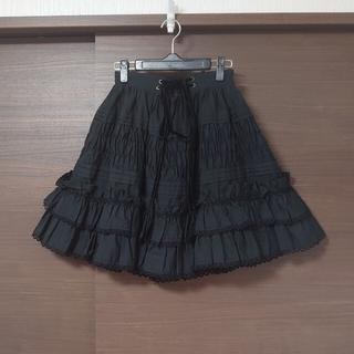 ヴィクトリアンメイデン(Victorian maiden)のヴィクトリアン・メイデン Victorian maiden 後ろリボンスカート(ひざ丈スカート)