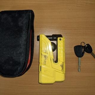 Abus Granit Detecto X-Plus 8077 アブス ディスク(その他)