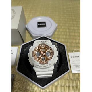 カシオ(CASIO)のCASIO 白 腕時計 G-SHOCK GMA-S120MF-7A2(腕時計(アナログ))