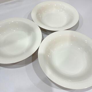 イッタラ(iittala)の廃盤 イッタラ サルヤトン プレート 3枚セット ホワイト 皿(食器)
