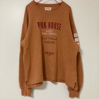 PINK HOUSE - ピンクハウス サーモンピンク トレーナー