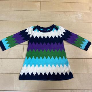 ギャップキッズ(GAP Kids)のGAP 女の子 トップス セーター*85〜90(ニット)