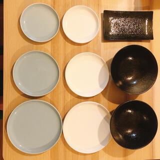 ニトリ(ニトリ)のニトリ皿9枚セット(食器)