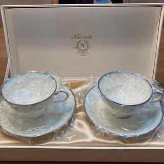 ノリタケ(Noritake)のノリタケ Noritake コーヒーカップ ソーサー 2客 セット 未使用品(グラス/カップ)