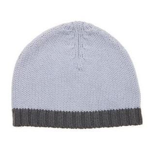 プチバトー(PETIT BATEAU)の【新品】プチバトーニット帽子12M/24M(帽子)