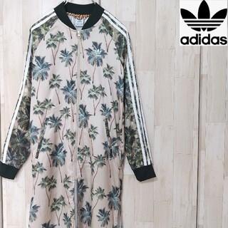 アディダス(adidas)の【人気】adidas アディダス 総柄 シャツワンピース ロングシャツ(シャツ/ブラウス(長袖/七分))