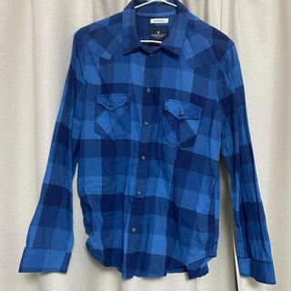 アメリカンイーグル(American Eagle)のAMERICAN EAGLE チェックシャツ ネルシャツ(シャツ/ブラウス(長袖/七分))