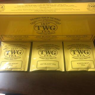 残り1セット❣️TWG TEA シンガポール高級紅茶3袋 (茶)