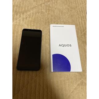 アクオス(AQUOS)のAQUOS sense3 basic simフリー(スマートフォン本体)