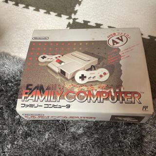ファミリーコンピュータ - Nintendo ファミリー コンピュータ AV仕様 ファミコン HVC-NFF