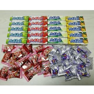 森永製菓 - ハイチュウ20本、あわだま20個、ぷっちょ20個、合計60個⑦