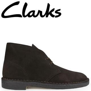 Clarks - Clarks デザートブーツ 26138229 クラークス ダークブラウン