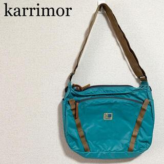 カリマー(karrimor)の★美品★カリマー ショルダーバッグ 緑 ボディバッグ サコッシュ(ショルダーバッグ)