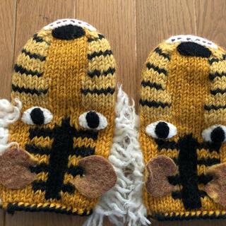 ビームスボーイ(BEAMS BOY)の手袋 ミトン ライオン(手袋)