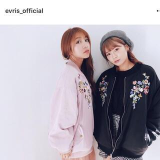 エヴリス(EVRIS)のEVRIS♡リバーシブルブルゾン(ブルゾン)