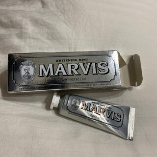 マービス(MARVIS)のMARVIS whitening mint マーヴィス歯磨き粉(歯磨き粉)