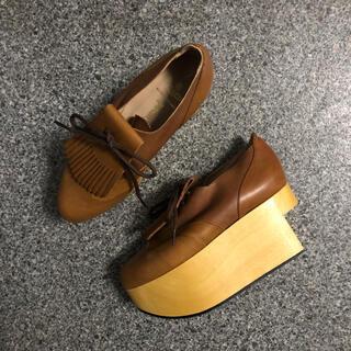ヴィヴィアンウエストウッド(Vivienne Westwood)のロッキンホース ゴルフ(ローファー/革靴)