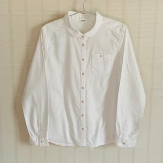 パーリッシィ(PAR ICI)のPAR ICI ◆ 平織りセルビッチ 丸衿ワークシャツ(シャツ/ブラウス(長袖/七分))