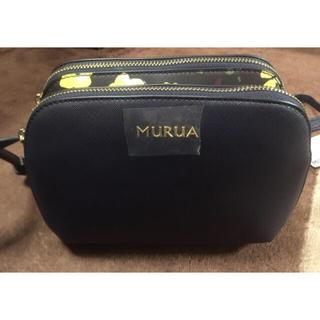 ムルーア(MURUA)のMURUA ムルーアショルダーバッグ フェミニンフラワー(ショルダーバッグ)