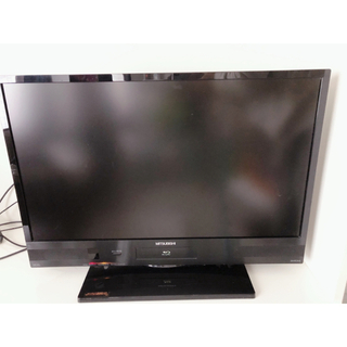 三菱電機 - 三菱REAL/ブルーレイ/HDD録画内蔵/LCD-32BW6/液晶テレビ/32型