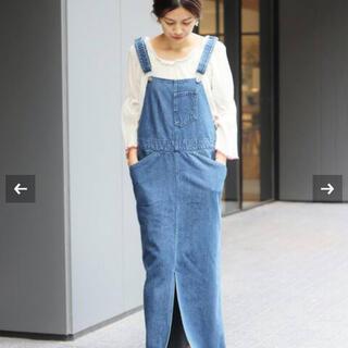 IENA - IENA LA BOUCLE デニムジャンパースカート 36