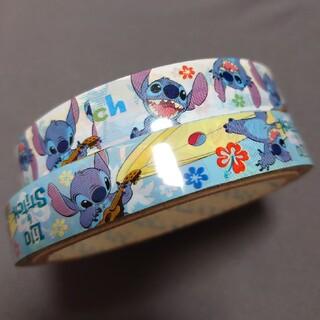 ディズニー(Disney)のスティッチ柄テープ 2本セット(テープ/マスキングテープ)