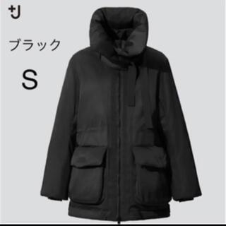 ジルサンダー(Jil Sander)の最終値下げ ユニクロ J ハイブリッドダウンショートコート ブラック S(ダウンジャケット)